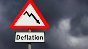 Рекордна дефлация в еврозоната